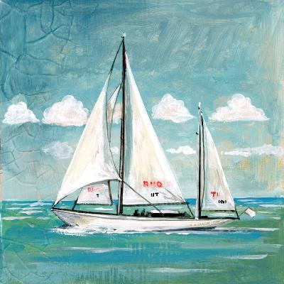 Sailboats II-Gregory Gorham-Art Print