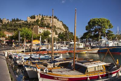 Sailboats in the Harbor of Cassis, Bouches-Du-Rhone, Provence, France-Brian Jannsen-Photographic Print