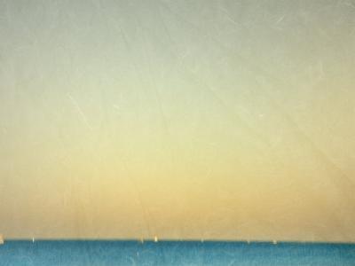 Sailboats under Pearl Sky-Robert Cattan-Photographic Print