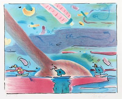 Sailboats-Peter Max-Limited Edition