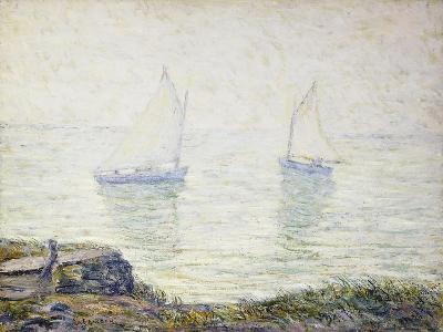 Sailboats-Ernest Lawson-Giclee Print