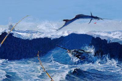 Sailfish are Everywhere During the Legendary Masters Tournament Off Palm Beach in January-Mike Rivken-Photographic Print