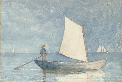 Sailing a Dory, 1880-Winslow Homer-Giclee Print