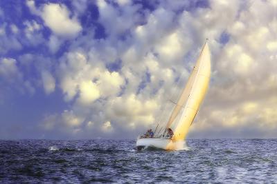 Sailing at Sunrise II-Alan Hausenflock-Photographic Print