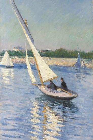 Sailing Boat at Argenteuil, 1893-Gustave Caillebotte-Giclee Print