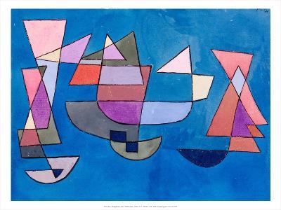 Sailing Boats, 1927-Paul Klee-Art Print