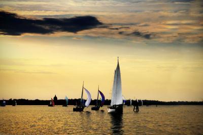 Sailing Home II-Alan Hausenflock-Photographic Print