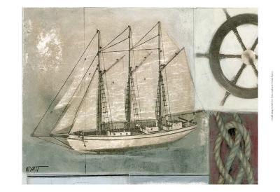 Sailing I-Norman Wyatt Jr^-Art Print