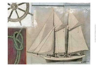 Sailing II-Norman Wyatt Jr^-Art Print