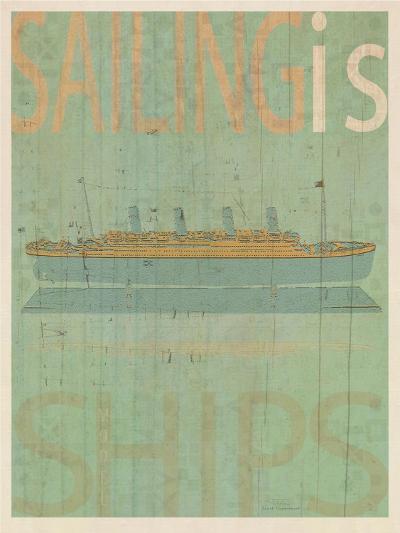 Sailing Is Titanic Model-Joost Hogervorst-Art Print