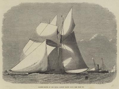 Sailing-Match of the Royal London Yacht Club-Edwin Weedon-Giclee Print