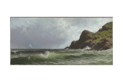 Sailing Off the Coast-Alfred Thompson Bricher-Giclee Print