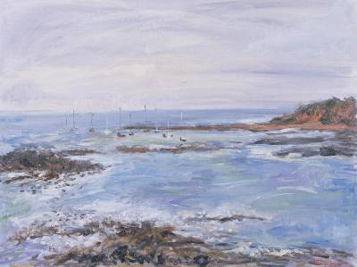 Sailing Off the Scilly Isles, 1997-Patricia Espir-Giclee Print