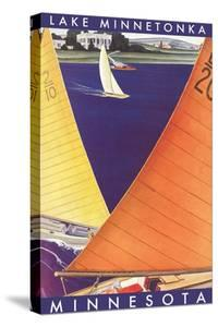 Sailing on Lake Minnetonka