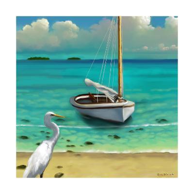 Sailing Serenity IV-Rick Novak-Art Print