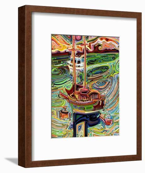 Sailing to Tofino-Josh Byer-Framed Giclee Print