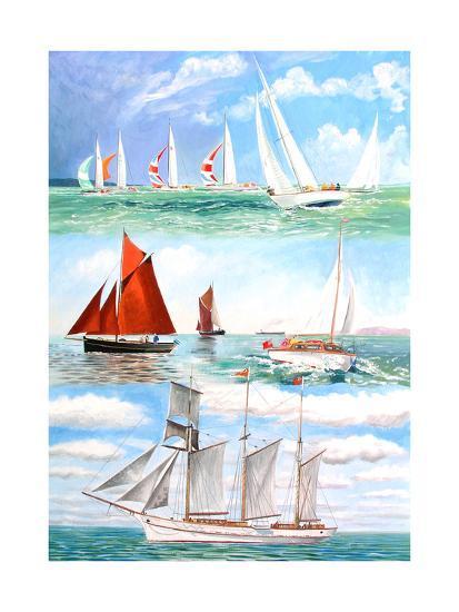 Sailing Yachts, 2006-Alex Williams-Giclee Print
