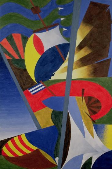 Sailing-William Ramsay-Giclee Print