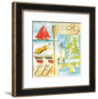 Sailmakers-Michael Clark-Framed Art Print