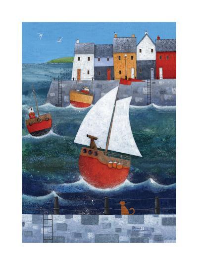 Sailor Dog-Peter Adderley-Art Print