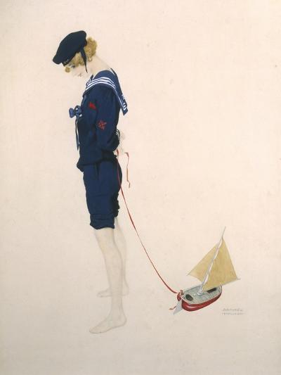 Sailor Girl-Ernst Ludwig Kirchner-Giclee Print