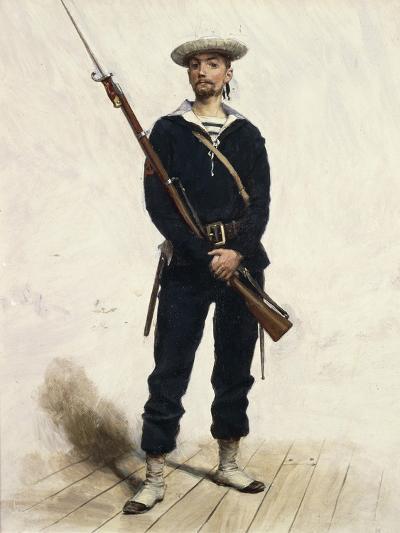 Sailor in Uniform, 1880--Giclee Print