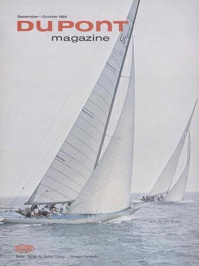 Sails for All Sailors, Front Cover of 'The Du Pont Magazine', September-October 1964--Giclee Print