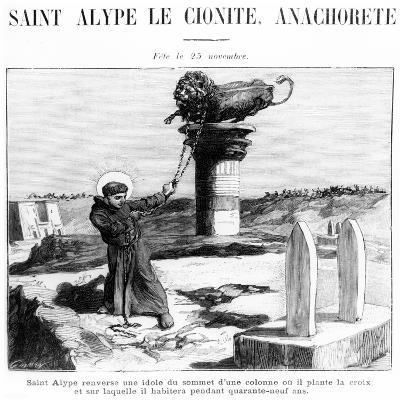 Saint Alypius the Stylite, C.1900--Giclee Print