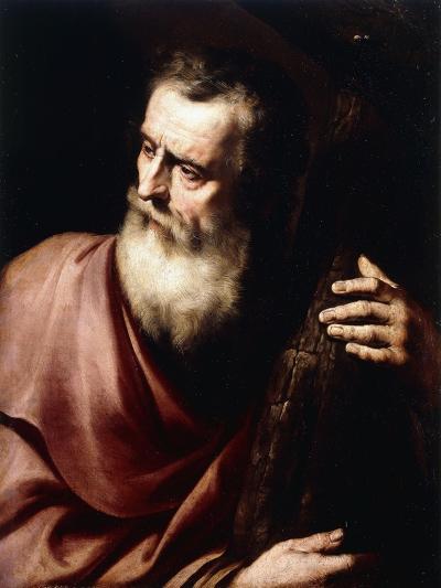Saint Andrew-Jusepe de Ribera-Giclee Print