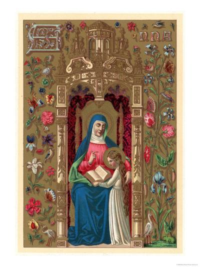 Saint Anne--Giclee Print