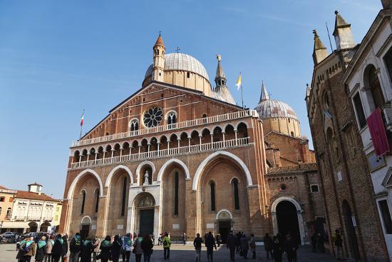 Saint Anthony Basilica in Padua, Veneto, Italy, Europe-Marco Brivio-Photographic Print