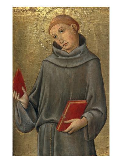 Saint Anthony of Padua-Sano di Pietro-Giclee Print