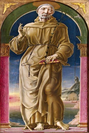 Saint Anthony of Padua-Cosimo Tura-Giclee Print