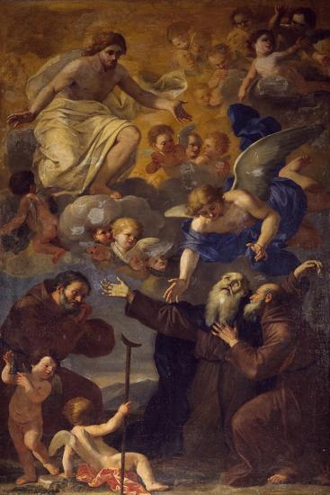 Saint Anthony's Death, Painting-Giacinto Gimignani-Giclee Print