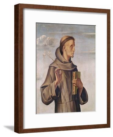 Saint Anthony-A. Vivarini-Framed Giclee Print
