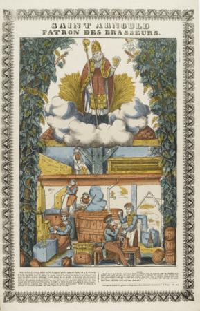 Saint Arnould, patron des brasseurs