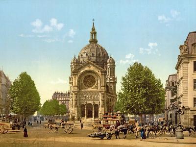 Saint-Augustin, Paris, Pub. C.1900--Giclee Print