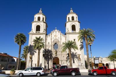 Saint Augustine Cathedral, Tucson, Arizona, USA-Jamie & Judy Wild-Photographic Print