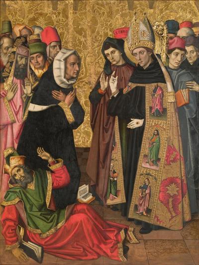 Saint Augustine Disputing with the Heretics--Giclee Print
