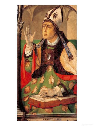 Saint Augustine-Joos van Gent-Giclee Print