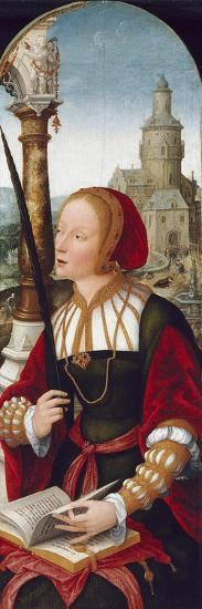 Saint Barbara, C.1520-Jean The Elder Bellegambe-Giclee Print