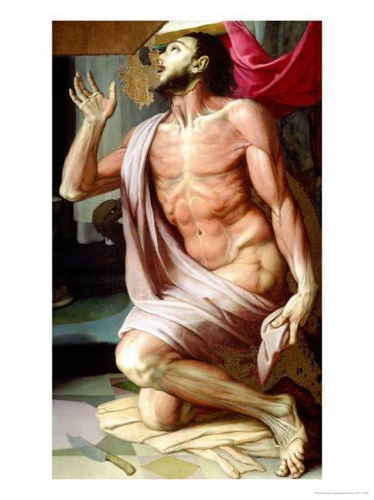 Saint Bartholomew-Agnolo Bronzino-Giclee Print