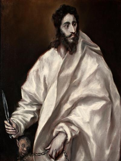 Saint Bartholomew-El Greco-Giclee Print
