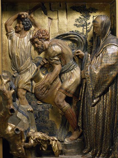 Saint Benedict Originates Water Spring in Subiaco--Giclee Print