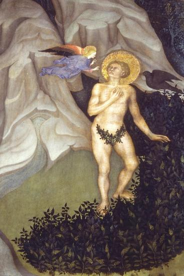 Saint Benedict Tempted in the Wilderness-Niccolò di Pietro-Giclee Print
