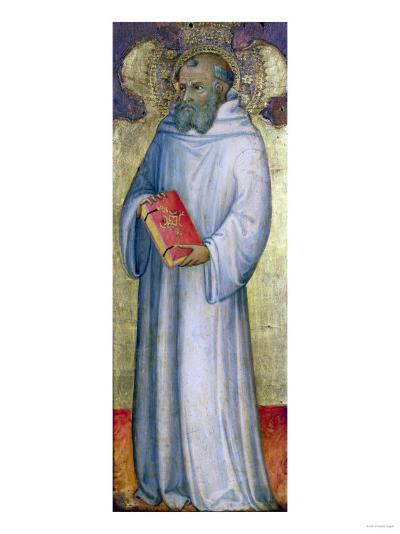 Saint Benedict-Carl Frederic Aagaard-Giclee Print