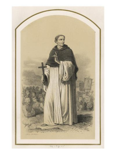 Saint Bernard of Clairvaux, French Religious--Giclee Print