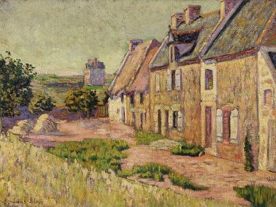 Saint-Briac, Cour a La Ville Hue, 1885-Paul Signac-Giclee Print