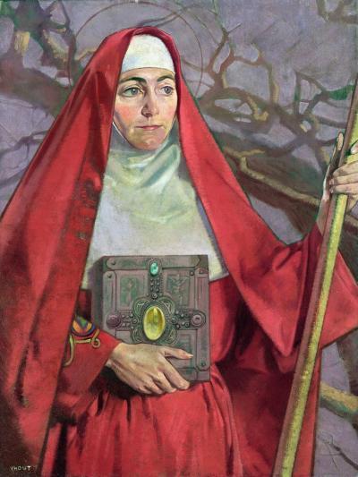 Saint Brigid-Patrick Joseph Tuohy-Giclee Print