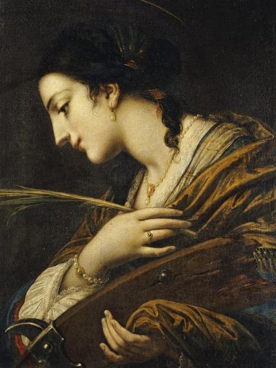 Saint Catherine of Alexandria-Il Volterrano-Giclee Print